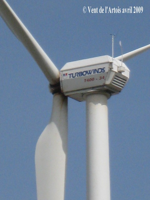 T400-34 - Turbowinds - 400 kW